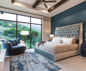 bedroom, dream home, and master image