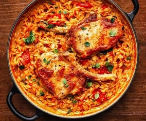 cook, dinner, and recipes image