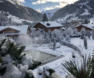 aesthetic, austria, and cold image