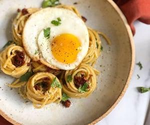 dinner, dinner ideas, and egg image