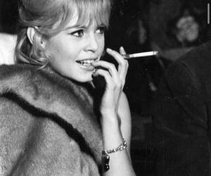 brigitte bardot and retro image