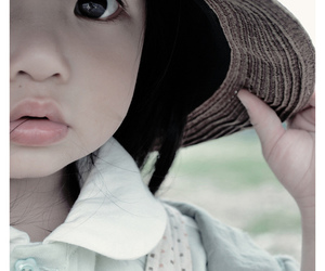 child, cute, and eyes image
