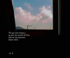 amor, frases, and fuego image