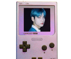 aesthetic, gameboy, and cybercore image