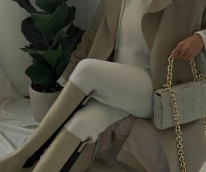 trench coat, bottegaveneta, and blogger image