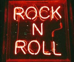 rock n roll, wallpaper, and light image