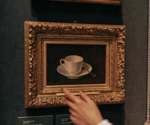 aesthetic, coffee, and painting image