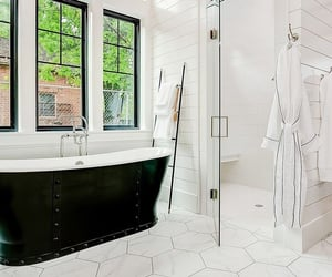 bath, bathroom, and interior design image