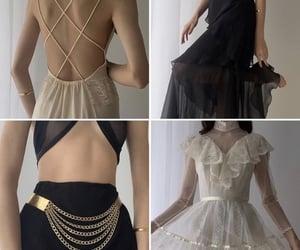 skirt, belt, and chiffon image
