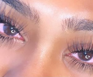 aesthetic, eyelash extensions, and mink lashes image