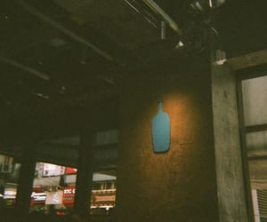 coffee shop, film camera, and Film Photography image