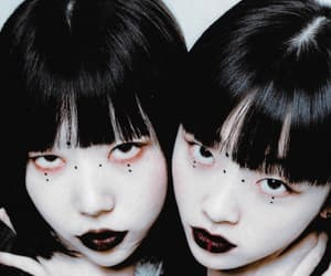 dark, goth, and japancore image