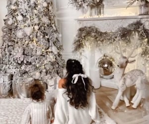christmas, christmas tree, and princess image