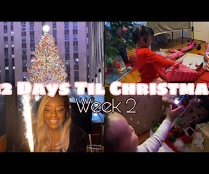 birthday, christmas tree, and gifts image