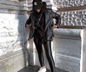 fashion, fashionable, and hoodie image
