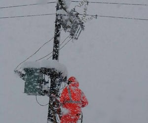 cables, repairs, and snow image