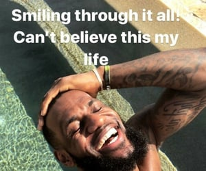 meme, lebron, and LeBron James image