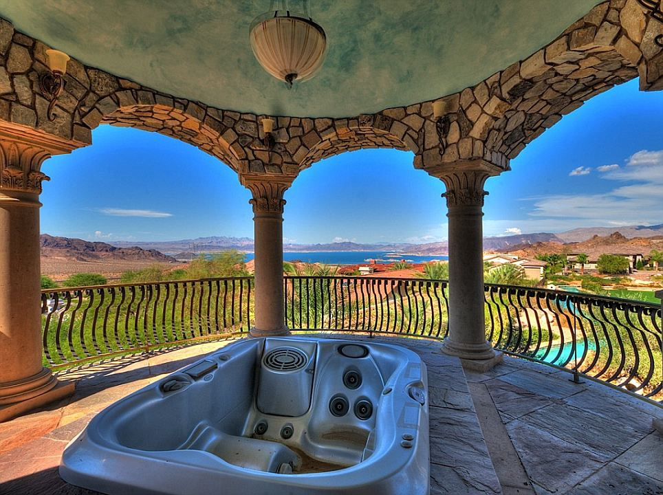 Beautiful Nevada Mansion With Its Own Backyard WATER PARK Makes A $3,000,000 Splash  On Real Estate Market | Mail Online