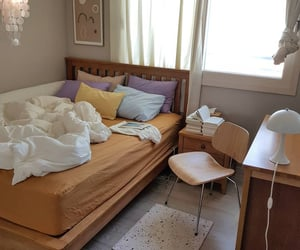 bedroom, design, and home image