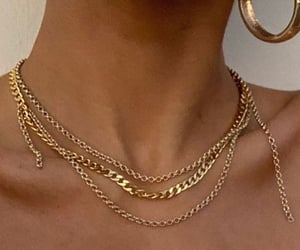 style, fashion, and gold image