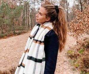 happy, autumn, and fashion image