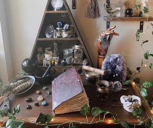crystals, spells, and witch image
