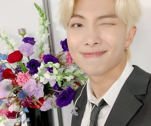 blonde hair, rm, and bts image