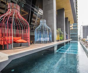 adventure, hotel, and infinity pool image