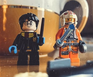 harrypotter, retro, and lego image