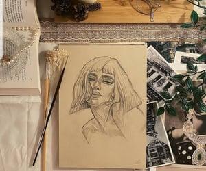 art, dessin, and ecriture image