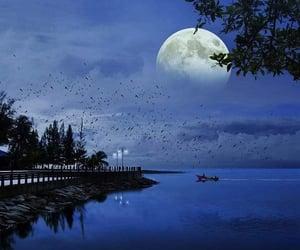 naturaleza, paisajes, and lunas image