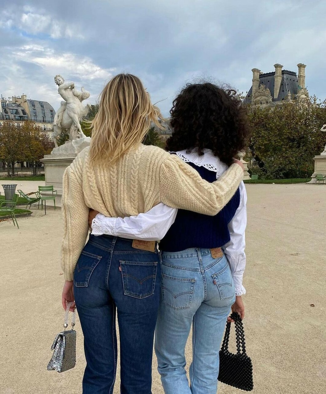 best friends, chic, and fashion image