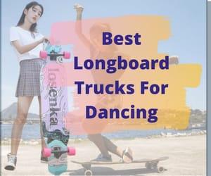 iceskating, longboard, and skate image