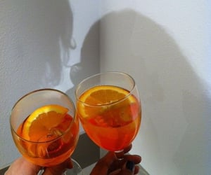 aesthetic, citrus, and drink image