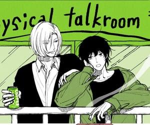 bl, manga, and physical talk room image