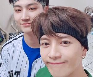 JB, jackson wang, and wang puppy image
