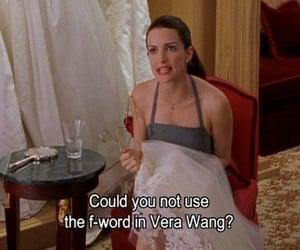 sex and the city, Vera Wang, and charlotte york image