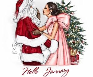 chanel, christmas, and christmas tree image