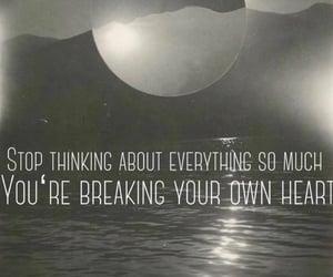 heart break, life, and writing image