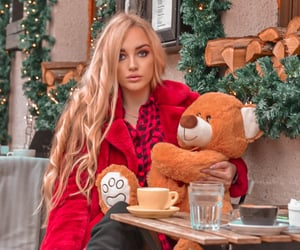 christmas, Serbia, and red fashion image