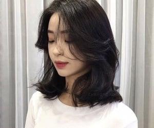 bangs, haircut, and hairstyle image