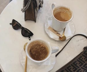 coffee, fashion, and cafe image