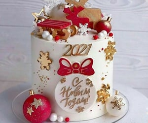 cake and happy new year image
