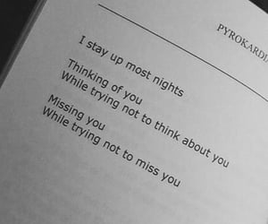 quotes, missing, and night image