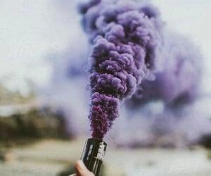 purple, smoke, and grunge image