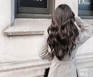 hair, fashion, and dior image