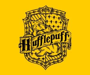 harry potter, yellow, and hufflepuff image
