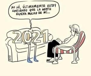 sentir, año nuevo, and 2021 image