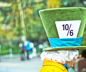 green and mad hatter image