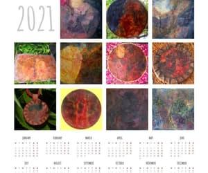 calendar, earthnaturegoddessart, and newyear2021 image